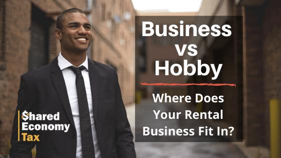 business vs hobby rental income