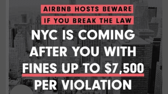 NYC Airbnb Law