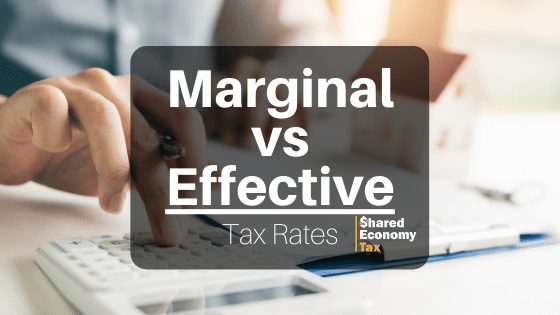Marginal vs Effective tax rate