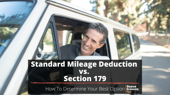 Standard Mileage Deduction vs Section 179