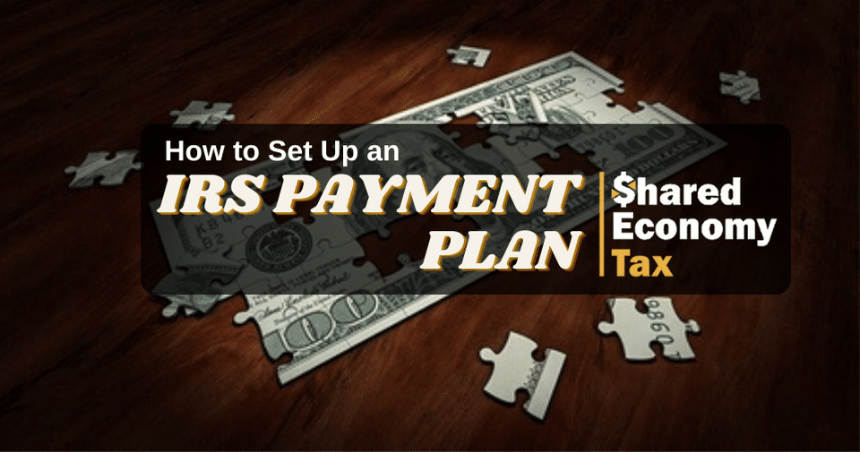 IRS payment plan feature